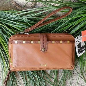The Sak Leather crossbody wallet